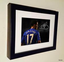 Signed 7x5 Autographed Eden Hazard Chelsea Photo Photograph Picture Frame 1