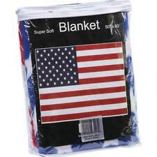 New US FLAG Soft Plush Fleece BLANKET Bed Sofa Cover Throw United States USA