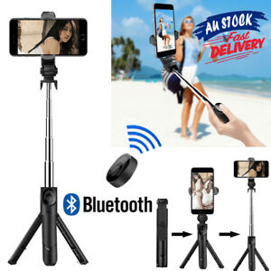 Bluetooth Selfie Stick Tripod Wireless Rotating 360° Remote For Mobile Phone