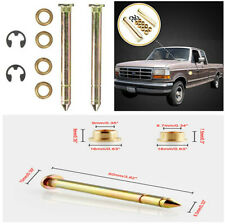 1 Set Durable Zinc Plated Steel Car Truck SUV Door Hinge Pins Pin Bushing Kit