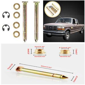 1 Set Durable Zinc Plated Steel Car Truck SUV Door Hinge Pins Pin Bushing Kit