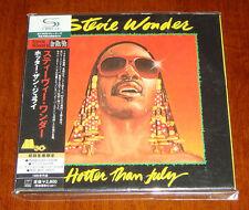 Japan SS MINI-LP SHM-CD Stevie Wonder-Hotter Than July LTD OOP UICY-93940