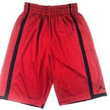 0d601c3687dc NIKE Jordan Basketball Shorts Size Small Men Red Elastic Waist Pockets  Jumpman