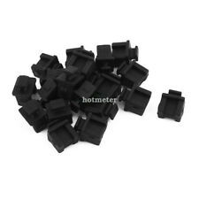 20Pcs SFP-B Silicone Anti-dust Stopper Plug for Protect Data Port 17mmx15mmx12mm