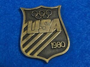Olympic Participant medal 1980 Moscow USA NOC pin