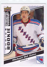 2009-10 Collector's Choice #277 MIchael Del Zotto RC CARD Mint