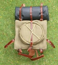 DRAGON IN DREAMS 1/6 WW I FRENCH PASCAL LOOSE BACK PACK ROLL CANVAS BUCKET