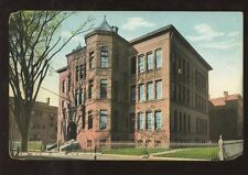 SCHOOL COLLEGE 1907 PPC USA...WEBSTER SCHOOL NEW HAVEN CONNECTICUT