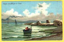 Campania – Vesuvio dallo scoglio di Frisio –Napoli 7606