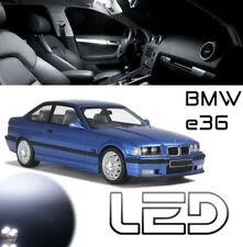 PACK LED BMW E36 7 Ampoules Blanc Plafonnier sol pied 316 318 320 325 330