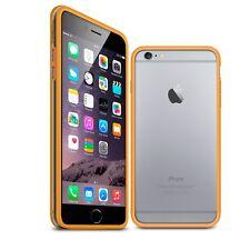 Coque Bumper Bimatière Pour iPhone 6 Plus (5.5) Orange Transparent  HD
