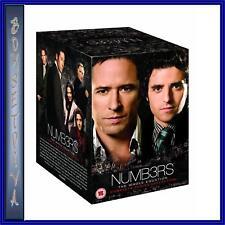 NUMBERS - COMPLETE SERIES - SEASONS 1 2 3 4 5 & 6 **BRAND NEW DVD BOXSET **