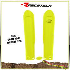 COPRISTELI FORCELLA RTECH KTM SX/SXF 15-18  EXC/EXCF 17-18 GIALLO FLUO