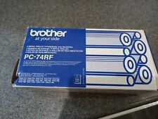 More details for genuine brother pc-74rf fax ribbon 4 rolls