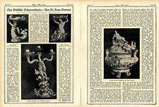 Dr.Franz Servaes: Das Brühlsche Schwanenservice Historical Memorabilia von 1921
