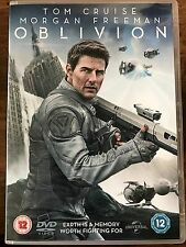 Tom Cruise Morgan Freeman OBLIVION ~ 2013 Action Sci-Fi Film | UK DVD