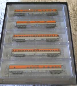 N-Scale Micro-Trains 993 01 730 DENVER & RIO GRANDE WESTERN HWT 5 PACK NEW MINT