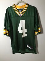 green bay packers jersey NFL Favre No. 4 Reebok Size M NEW WITHOUT TAGS