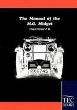 Manual for The MG Midget Supercharged 9783861951841 by Anonym Book