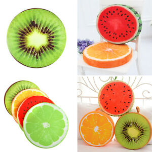 Hot Novelty 3D Fruit Pillow Cushion Sofa Car Seat Plush Toys Birthday Gifts Hot