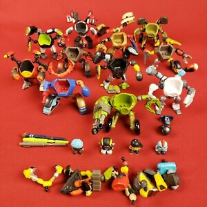 Ready2Robot Mix and Match Robot Parts Lot with Figures