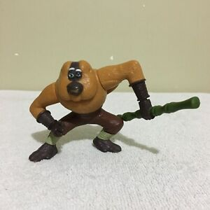 Master Monkey Twirling Bamboo Kung Fu Panda McDonald's 2008 Toy Figure