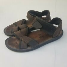Clarks Active Air Leather Hiking Sandals Adjustable Straps Rugged Durable Sz 9 M