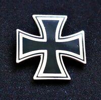 GERMAN IRON CROSS PIN BADGE - REPRO ARMY  WW2 WW1 MOTORHEAD