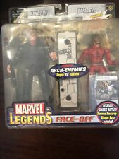 Toybiz Marvel Legends Face-Off Daredevil vs Kingpin, Variant set