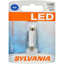 SYLVANIA 578 41mm Festoon Blue LED Automotive Bulb