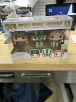 Pop Funko Harry Potter Ginny Fred George Weasley 3 Pack 2019 ECCC Barnes & Noble