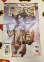 Annihilation Conquest Nova #6 Adi Granov Gamora Cover Art GOTG - NM SIGNED! COA