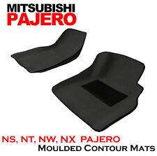 To suit Mitsubishi Pajero NS, NT, NW, NX 3D Carpet Contour Front Car Mats