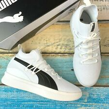 NEW Puma Men's Clyde Court White Athletic Shoes