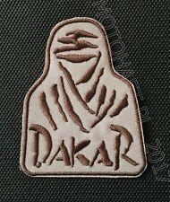 DAKAR logo Bedouin Tuareg NEW toppa ricamata termoadesivo iron-on patch Aufnäher