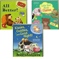 Kisses Cuddles and Good Night! All Better! & Little Bear Glasses (Board Books)
