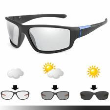 Photochromic Cycling Glasses Uv400 Bike Driving Eyewear Sunglasses Bicycle MTB