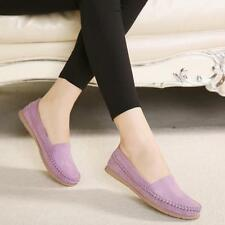 Women Casual Velvet Moccasin Comfort Lady Boat Oxfords Shoes Loafers Flat Shoes