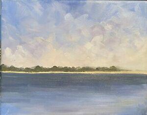 Cape Cod Oil Painting IMPRESSIONISM CONTEMPORARY Ocean Seascape Nautical Art