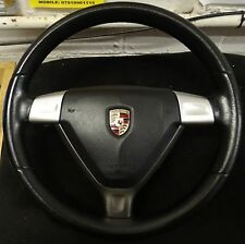 Porsche Boxster 987 997 Cayman Steering Wheel 3 spoke Black Carerra Manual