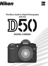 Nikon D50 Digital Slr Camera Owners Instruction Manual -Spanish Text Only-Nikon