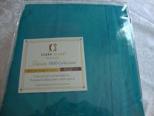 Clara Clark 1800 Collection Deluxe Microfiber Full Sheet Set Teal - Nip