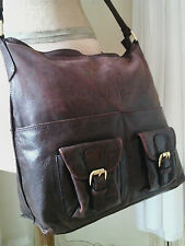Auth Designer MARTA PONTI~Leather Tote Shopper Handbag/messenge Satchel~Limited