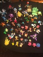 Lot Of 55 + Pokemon  Figures CGTSJ TOMY 6 Extra Large One, Keychains, Spinners