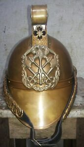 Halloween AUS Fireman Officer Helmet Firefighter Fire-Chief Helmet With Liner
