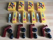 HONDA CB500 K1-K3 F 75-77 CB550 F1-F2 78-80 NGK SPARK PLUGS AND CAPS FREE POST!