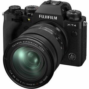 Fuji Fujifilm X-T4 + XF 16-80mm Lens Digital Camera Kit in Black (UK Stock) BNIB