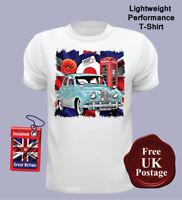 Austin A40 Somerset Men's T Shirt, A40 Somerset, Union Jack, T Shirt, Target,...