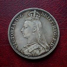 Victoria 1892 silver crown
