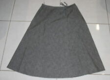 Womens size 8 grey cotton wrap around skirt made by COLORADO